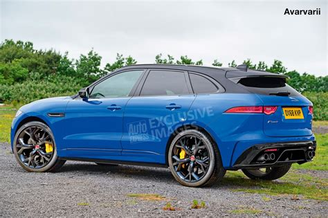 Jaguar F-pace Svr Will Be Revealed On Wednesday At New