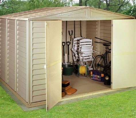 duramax sheds uk duramax woodbridge 10 x 8 ft pvc shed gardensite co uk