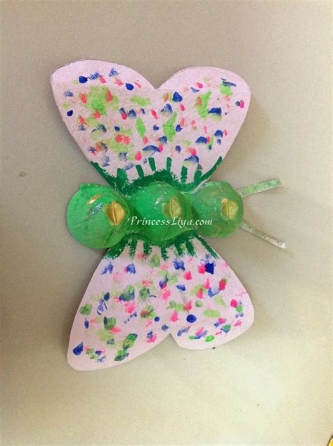 with liya and zain egg recycling craft ideas 653 | egg carton recycling kids craft 3