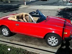 1980 Fiat 124 Spider For Sale Claremont  California