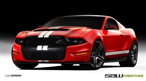 Ford Mustang Concept by Or Not 2014 Ford Mustang Concept Car Design