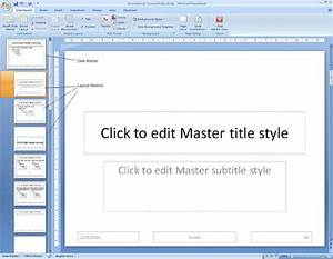 image gallery slide master With how to create a master template in powerpoint
