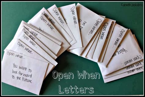 open when letter ideas for your best friend
