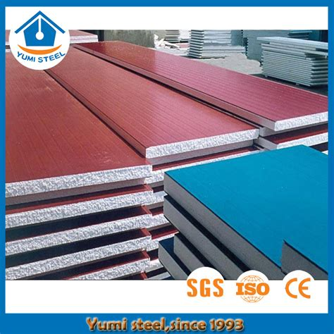 thickness eps sandwich panel  color steel sheet buy thermal roofing wall