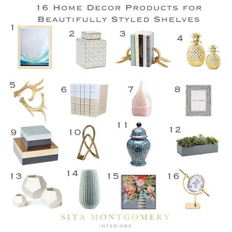 shelf decor items sita montgomery interiors 6 tips for beautifully styled