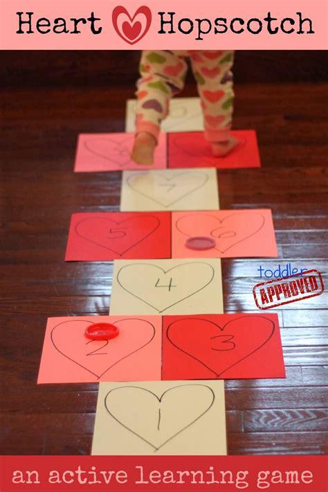 toddler approved hopscotch an active s 685 | heart hopscotch