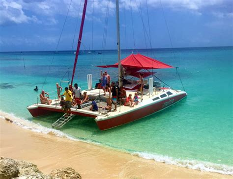 Catamaran In Barbados by Private 50ft Catamaran Charter Excursion Barbados Cruise