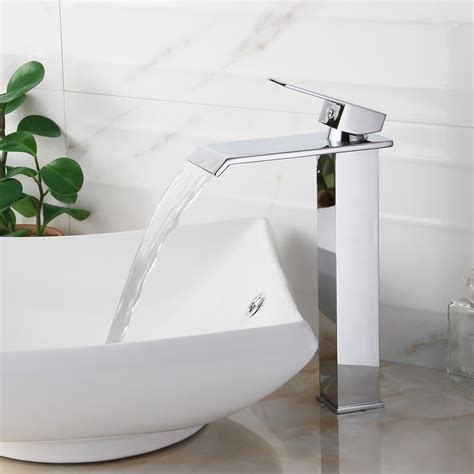 Wide Mouth Waterfall Faucet