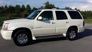 Sold 2005 Cadillac Escalade Awd 6 0l V8 White Diamond Tricoat 12ok   Wilsoncountymotors Com