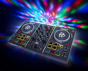 NUMARK Party Mix 2-Channel DJ Controller With Built In Light Show  Dj