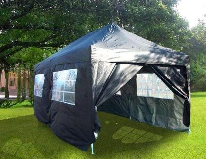 heavy duty    black ez pop  party tent