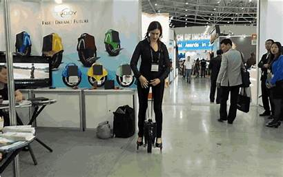 Battery Unicycle Segway Powered Replace Could Pinwheel