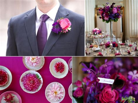 Pink And Purple Wedding Color Palette- Ideas And Inspiration