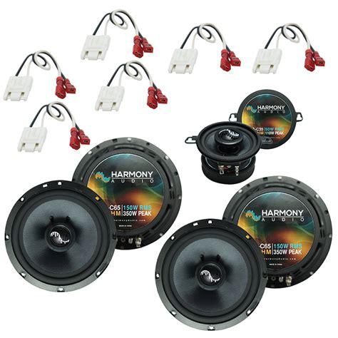 fits jeep grand 1993 1995 oem premium speaker replacement harmony upgrade kit ha spk