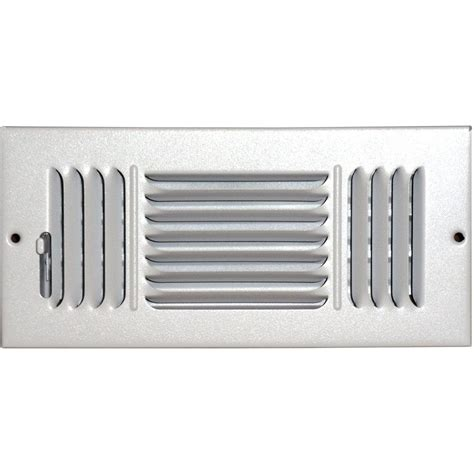 ac vent covers home depot speedi grille 24 in x 24 in drop ceiling t bar 3 cone air vent register white with 10 in