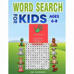 Word Search For Kids Ages 6