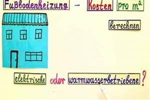 Estrich Preise M2 : fu bodenheizung kosten pro m2 h user immobilien bau ~ Markanthonyermac.com Haus und Dekorationen