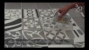 pose de carreaux ciment par bati orient youtube With pose carreaux de ciment