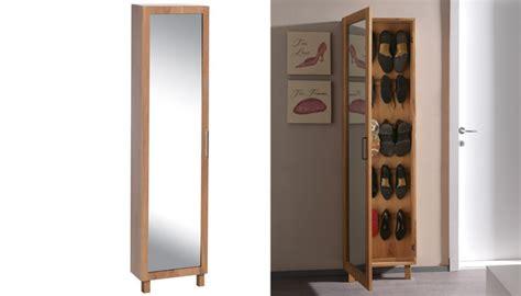 miroir pour chambre meuble à chaussure avec porte miroir
