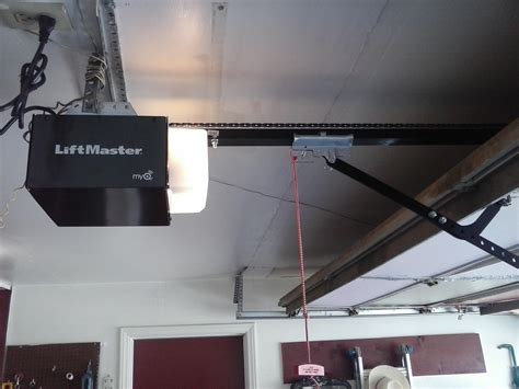 New Liftmaster Garage Door Opener Installation