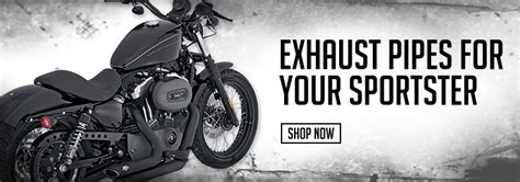 Parts for Harley-Davidson Sportster | Exhaust | Seats | J ...
