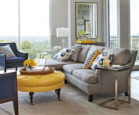 Navy Blue Sofa Coastal Living Room
