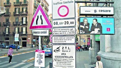 Ufficio Ztl Torino by Ztl A Palermo I Tecnici La Competenza 232 Della Giunta