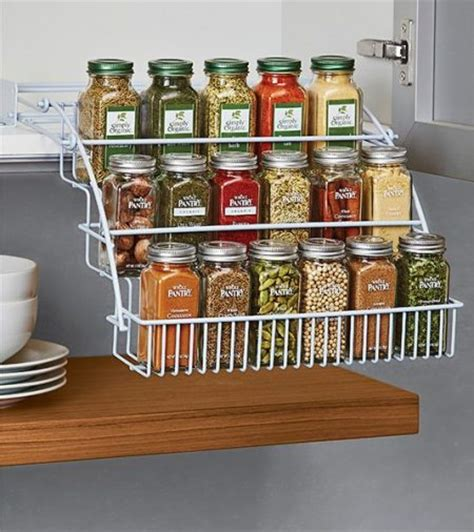 Cheap Spice Racks by 48 Kitchen Storage Hacks And Solutions For Your Home