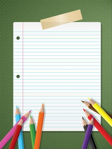 Back To School Backgrounds by Back To School Background Free Vector