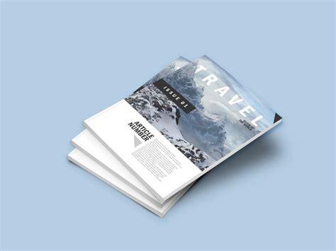 Free Magazine Mockup A4 Magazine Mockup Bundle Mockupworld