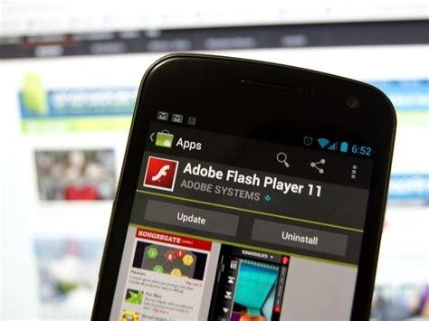We do not modify in anyway the installation program for adobe flash player 11. Adobe Flash Player for Android updated with security fixes | Android Central