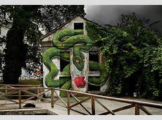 Gigantic Snake Mural by Sokram – Enpundit