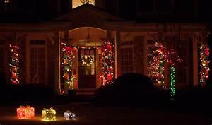 Christmas, Porch, Decorations
