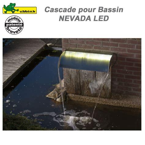 cascade pour bassin exterieur cascade pour bassin de jardin ext 233 rieur nevada 30 led ubbink 131211