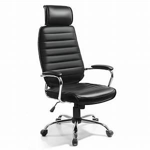 Fauteuil De Bureau Design : fonte noir fauteuil chaise siege de bureau design moderne et confortable achat vente chaise ~ Teatrodelosmanantiales.com Idées de Décoration