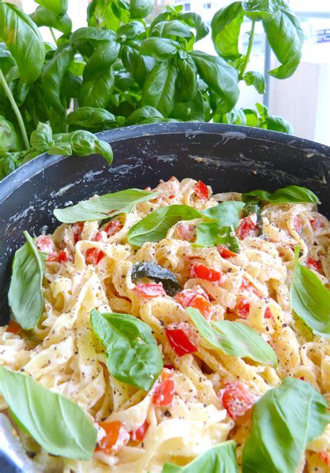 la cuisine de micheline lemon ricotta pasta au basilic et poivron la cuisine de micheline