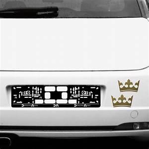 Auto Fenster Folie : 2 kronen 12cm gold k nig krone aufkleber tattoo auto ~ Kayakingforconservation.com Haus und Dekorationen