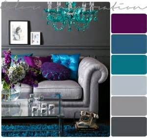 purple grey and turquoise living room home design ideas