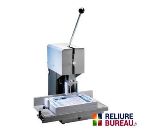 reliure bureau machines de perforation foreuses perforatrice