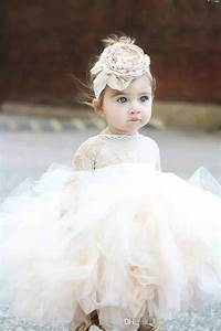 2018 Modern Cute Baby Girl Baptism Gown Christening Dress