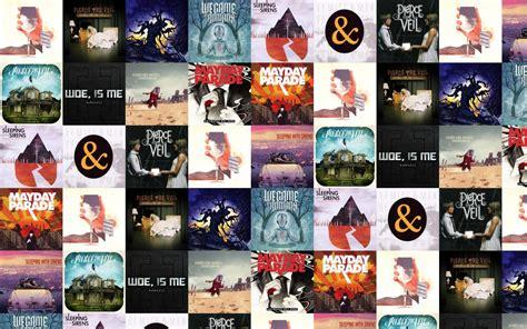 Pierce The Veil Desktop Wallpaper August 2012 Tiled Desktop Wallpaper