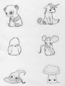 Unicorn Cute Chibi Animal Drawings