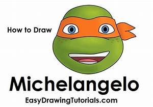 How To Draw Michelangelo
