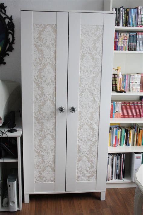 Ikea Schrank Garderobe by Schrank Kleiderschrank Tapete Barock Shabby Beige Bekleben
