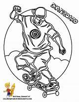 Coloring Skateboard Yescoloring Transportation Fun Cool Skateboarder Ausmalbilder Bikes Colouring Skateboarding Boys Trench Popular Recommended Albums sketch template