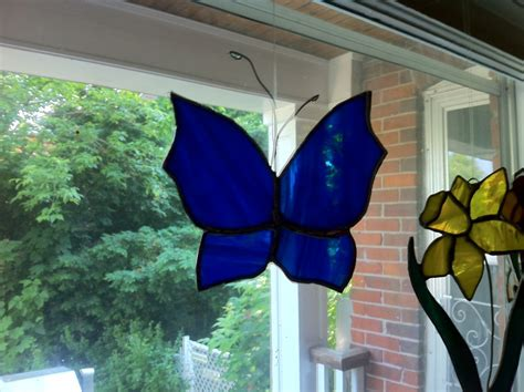 how to make a stained glass l how to make a stained glass butterfly feltmagnet