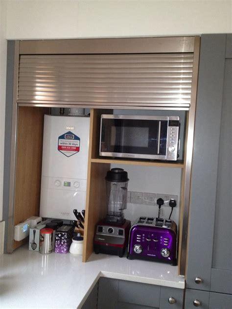 tambour doors for kitchen cabinets appliance garage with tambour door rashmi 8435