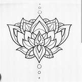 Buddhist Lotus Drawing   479 x 479 jpeg 30kB