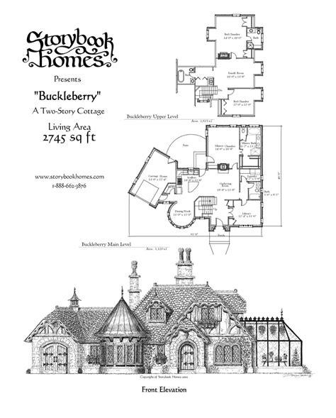 buckleberry houseplan  storybook homes home house