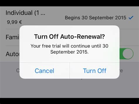 how to turn automatic renewal on iphone apple how to turn automatic renewal on ios